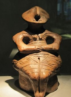 idol cu spirala Vinca