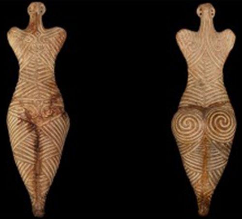 Idol cu spirale Vorniceni