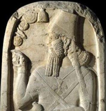 Stela lui Samsi-Adad al V-lea detaliu
