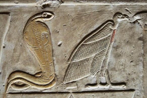 uraeus, vulture lower,upper egypt
