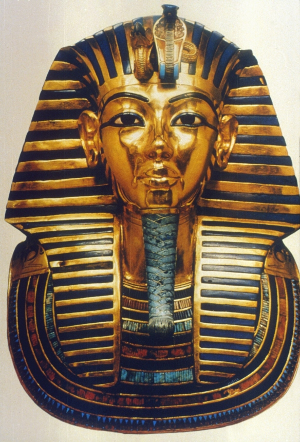 Funerary mask of King Tut